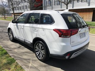 2018 Mitsubishi Outlander ZL MY19 ES 2WD White 6 Speed Constant Variable Wagon