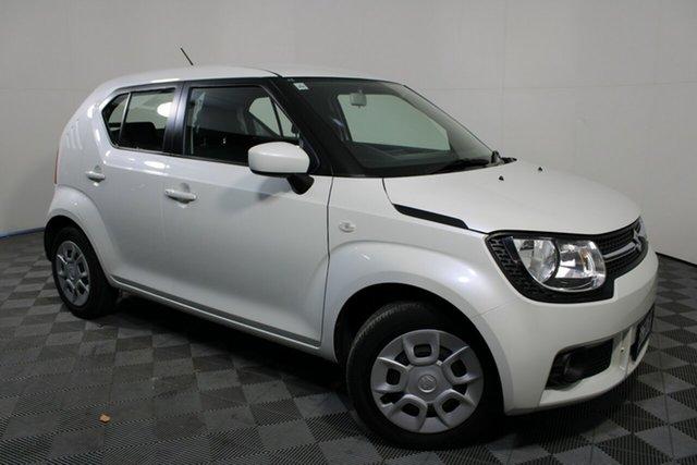 Used Suzuki Ignis MF GL Wayville, 2017 Suzuki Ignis MF GL Pure White 1 Speed Constant Variable Hatchback