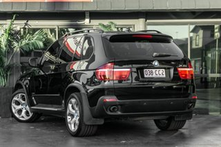 2010 BMW X5 E70 MY10 xDrive30d Steptronic Black 6 Speed Sports Automatic Wagon.