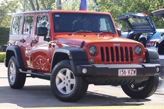 2015 Jeep Wrangler JK MY2015 Sport Orange 6 Speed Manual Softtop.