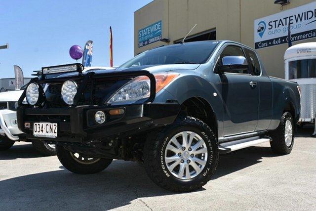 Used Mazda BT-50 MY13 XTR (4x4) Capalaba, 2013 Mazda BT-50 MY13 XTR (4x4) Blue 6 Speed Automatic Freestyle Utility