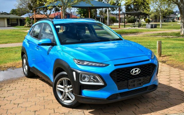 Used Hyundai Kona OS.2 MY19 Active 2WD Ingle Farm, 2019 Hyundai Kona OS.2 MY19 Active 2WD Blue 6 Speed Sports Automatic Wagon