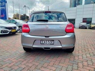 2018 Suzuki Swift AZ GL Navigator Silver 1 Speed Constant Variable Hatchback.