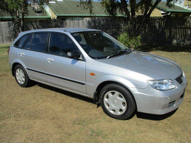Used Mazda 323 BJ II-J48 Astina Kippa-Ring, 2003 Mazda 323 BJ II-J48 Astina Silver 4 Speed Automatic Hatchback