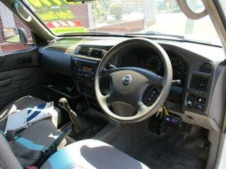2010 Nissan Patrol GU 7 MY10 DX White 5 Speed Manual Wagon