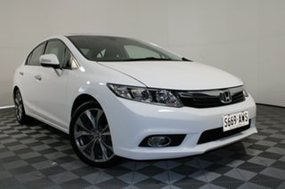 2013 Honda Civic 9th Gen Ser II Sport White 5 Speed Sports Automatic Sedan.