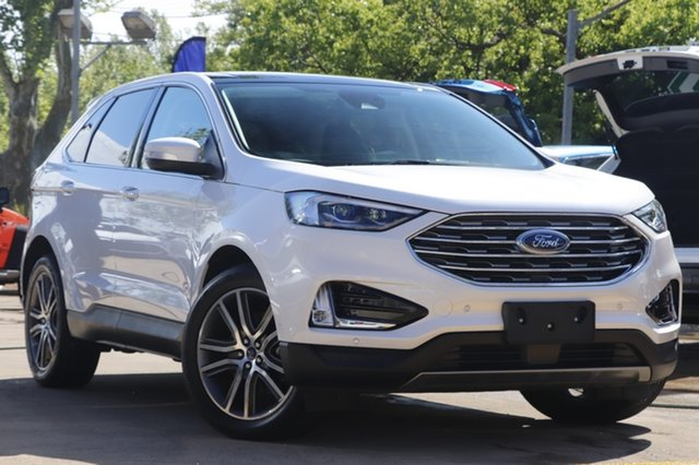Used Ford Endura CA 2019MY Titanium Toowoomba, 2019 Ford Endura CA 2019MY Titanium White 8 Speed Sports Automatic Wagon