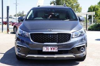 2016 Kia Carnival YP MY17 Platinum Grey 6 Speed Sports Automatic Wagon.