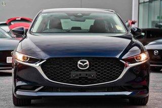 2021 Mazda 3 BP2S7A G20 SKYACTIV-Drive Touring Blue 6 Speed Sports Automatic Sedan.