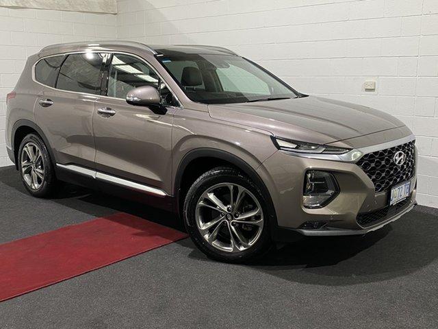 Used Hyundai Santa Fe DM5 MY18 Highlander Glenorchy, 2018 Hyundai Santa Fe DM5 MY18 Highlander Bronze 6 Speed Sports Automatic Wagon