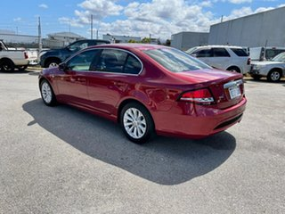 2012 Ford Falcon FG MK2 G6 EcoBoost Red 6 Speed Automatic Sedan