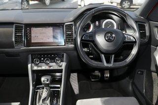 2018 Skoda Kodiaq NS MY19 132TSI DSG Sportline Red 7 Speed Sports Automatic Dual Clutch Wagon