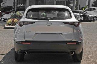 2021 Mazda CX-30 DM2WLA G25 SKYACTIV-Drive Astina Silver 6 Speed Sports Automatic Wagon.