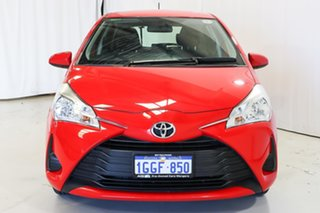 2017 Toyota Yaris NCP130R Ascent Red 5 Speed Manual Hatchback