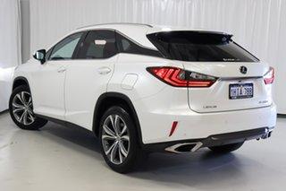 2017 Lexus RX AGL20R RX200t Luxury White 6 Speed Sports Automatic Wagon.