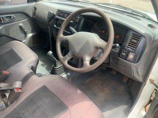 2001 Mitsubishi Triton MK GL White 5 Speed Manual Utility