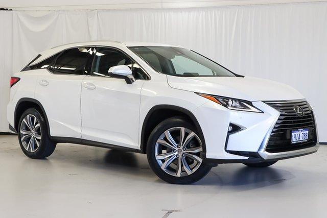Used Lexus RX AGL20R RX200t Luxury Wangara, 2017 Lexus RX AGL20R RX200t Luxury White 6 Speed Sports Automatic Wagon
