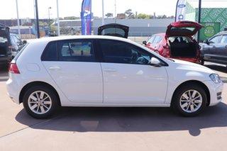 2015 Volkswagen Golf VII MY16 92TSI White 6 Speed Manual Hatchback.