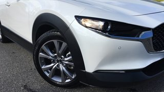 2019 Mazda CX-30 DM2W7A G20 SKYACTIV-Drive Touring White 6 Speed Sports Automatic Wagon.