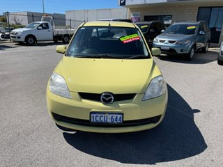 2005 Mazda 2 DY Neo Yellow 4 Speed Automatic Hatchback.