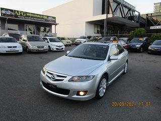 2006 Mazda 6 GG 05 Upgrade Luxury Silver 5 Speed Auto Activematic Hatchback.