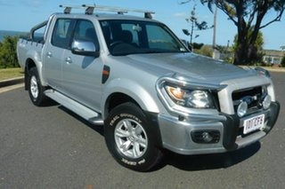 2011 Ford Ranger PK XLT Crew Cab Silver 5 Speed Manual Utility.