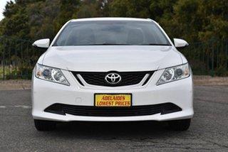 2015 Toyota Aurion GSV50R AT-X White 6 Speed Sports Automatic Sedan.