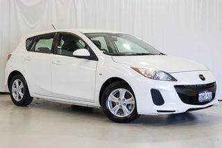 2012 Mazda 3 BL10F2 Neo White 6 Speed Manual Hatchback.