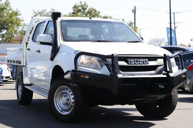 Used Isuzu D-MAX MY17 SX Crew Cab Mount Gravatt, 2017 Isuzu D-MAX MY17 SX Crew Cab White 6 Speed Sports Automatic Cab Chassis