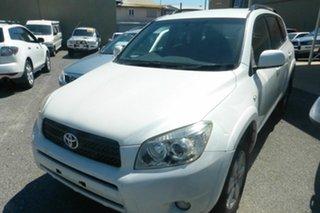 2006 Toyota RAV4 ACA33R Cruiser White 5 Speed Manual Wagon
