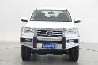 2017 Toyota Fortuner GUN156R GX White 6 Speed Automatic Wagon.