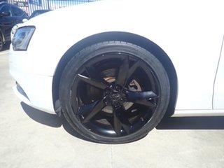 2012 Audi A5 8T MY13 2.0 TFSI Quattro Polar White 7 Speed Auto Direct Shift Coupe