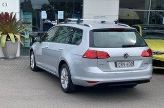 2014 Volkswagen Golf VII MY14 90TSI DSG Comfortline Silver, Chrome 7 Speed