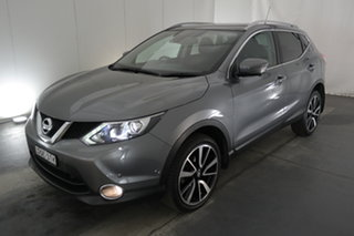 2017 Nissan Qashqai J11 TI Grey 1 Speed Constant Variable Wagon.