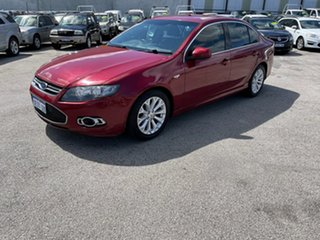 2012 Ford Falcon FG MK2 G6 EcoBoost Red 6 Speed Automatic Sedan.