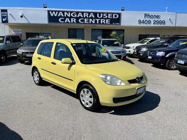 Used Mazda 2 DY Neo Wangara, 2005 Mazda 2 DY Neo Yellow 4 Speed Automatic Hatchback