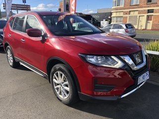 2020 Nissan X-Trail T32 Series II ST X-tronic 2WD Ruby Red 7 Speed Constant Variable Wagon.