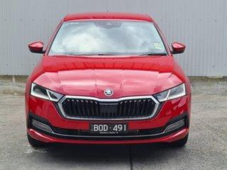 2021 Skoda Octavia NX MY21 140TSI Sedan DSG Limited Edition Red 7 Speed Sports Automatic Dual Clutch.