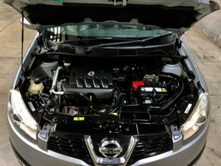 2012 Nissan Dualis J10 Series II MY2010 +2 Hatch X-tronic Ti Grey 6 Speed Constant Variable