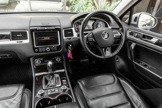 2013 Volkswagen Touareg 7P MY13 V6 TDI Tiptronic 4MOTION Silver 8 Speed Sports Automatic Wagon