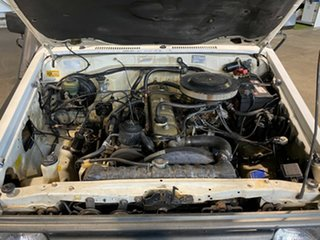 1992 Toyota Landcruiser FJ75RP White 5 Speed Manual Cab Chassis