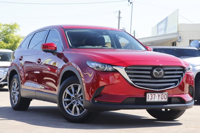 Used Mazda CX-9 TC Touring SKYACTIV-Drive Bundamba, 2018 Mazda CX-9 TC Touring SKYACTIV-Drive Red 6 Speed Sports Automatic Wagon