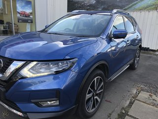 2020 Nissan X-Trail T32 Series II Ti X-tronic 4WD Blue 7 Speed Constant Variable Wagon