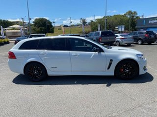 2016 Holden Commodore VF II MY16 SS V Sportwagon Redline White 6 Speed Sports Automatic Wagon.