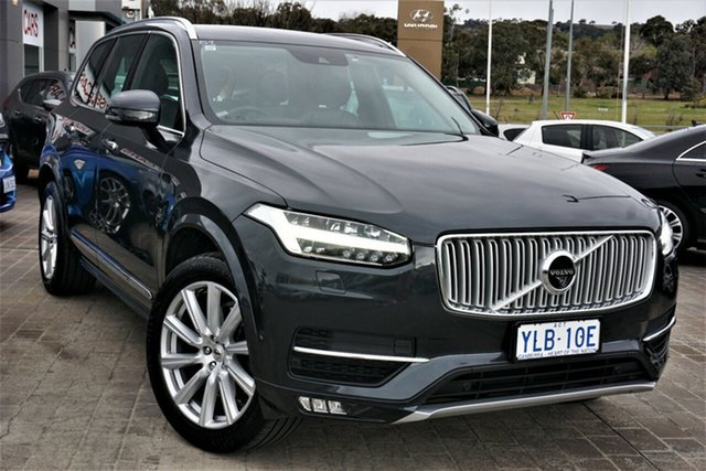 Used Volvo XC90 L Series MY16 T6 Geartronic AWD Inscription Phillip, 2016 Volvo XC90 L Series MY16 T6 Geartronic AWD Inscription Grey 8 Speed Sports Automatic Wagon