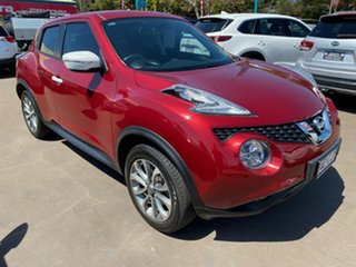 2015 Nissan Juke F15 Series 2 ST (FWD) Red Continuous Variable Wagon.