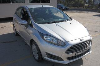 2015 Ford Fiesta WZ MY15 Ambiente Silver 5 Speed Manual Hatchback.