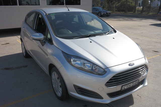 Used Ford Fiesta WZ MY15 Ambiente Maryville, 2015 Ford Fiesta WZ MY15 Ambiente Silver 5 Speed Manual Hatchback
