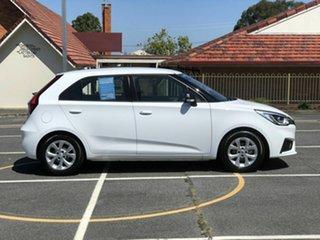 2020 MG MG3 SZP1 MY20 Core White 4 Speed Automatic Hatchback.