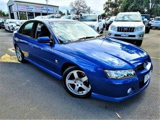 2004 Holden Commodore VZ SV6 Blue 5 Speed Sports Automatic Sedan.